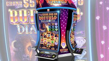 Buffalo Diamond Slot Machine