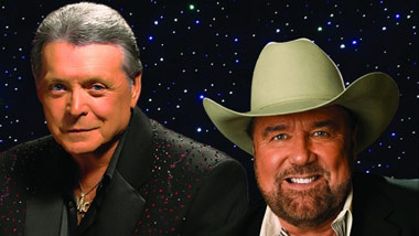 Urban Cowboys Mickey Gilley and Johnny Lee